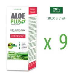 Sok z aloesu ALOE Plus...