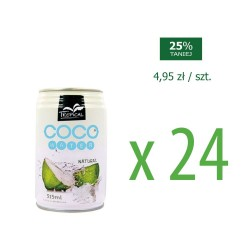 Woda kokosowa 0,31  24 szt.