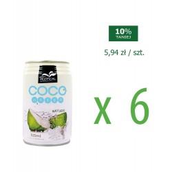 Woda kokosowa 0,31  6 szt.